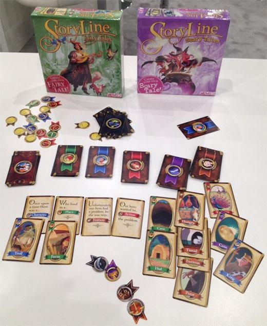 Componentes de Storyline Fairy tales