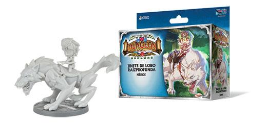 expansión Jinete de Lobo de Super Dungeon Explore