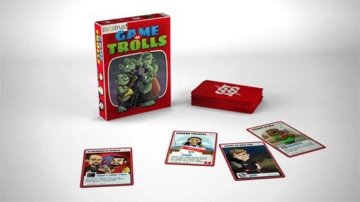 Componentes de Game of trolls