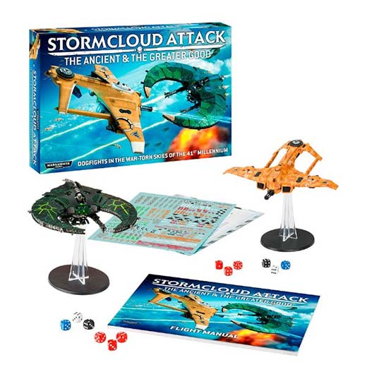 Stormcloud Attack The Ancient and The Greater Good