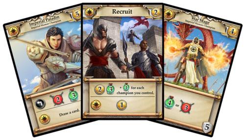 cartas de la facción Imperialis de Hero Realms