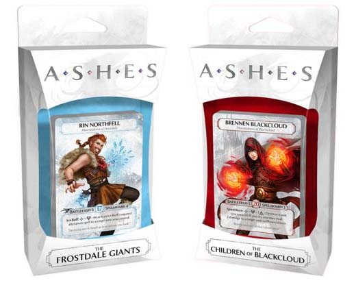 Expansión de Ashes Rise of the Phoenixborn