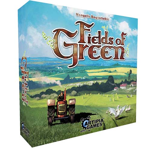 Portada de fields of green