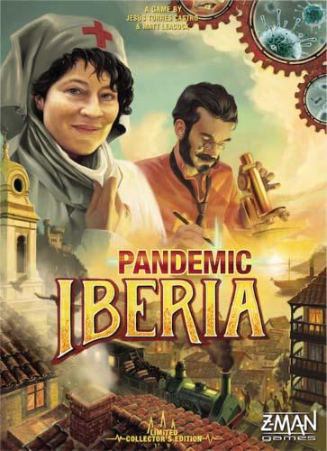 Portada de Pandemic Iberia