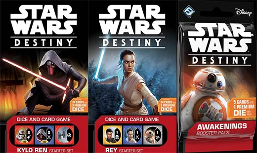 caratulas de Star wars Destiny