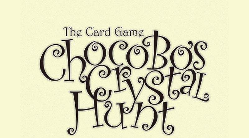 Logotipo de Chocobo Crystal hunt