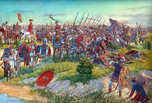 Guerra entre el imperio bizantino y el imperio persa