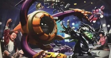 Arte de la portada de Gekido Bot Battles