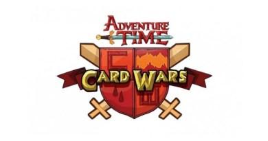 Logotipo de Hora de Aventuras Card Wars