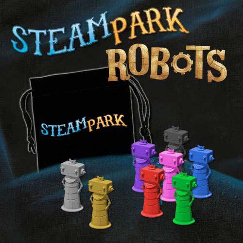 Expansión Robots de Steam Park
