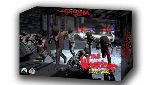 Portada del juego the warriors turf war