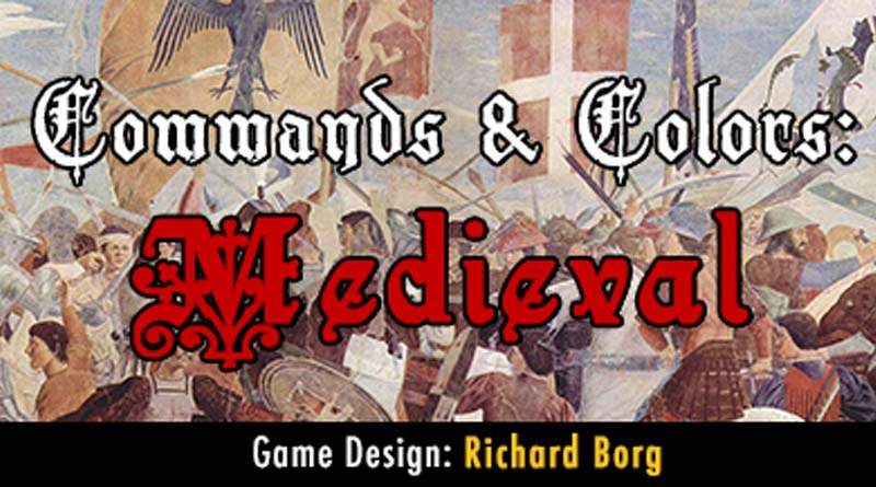 Banner de Commands and colors medieval
