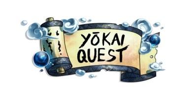 Logotipo del juego de miniaturas Yokai Quest