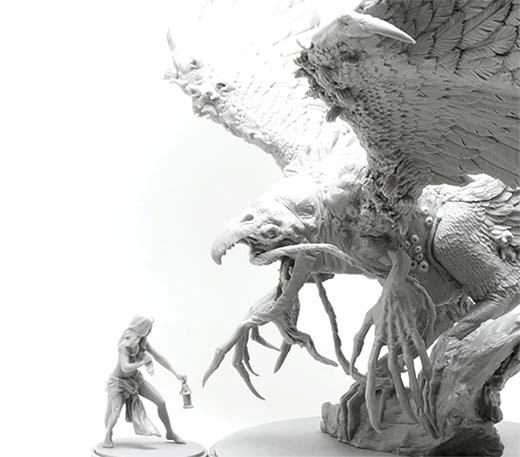 Miniaturas de Kingdom death monster