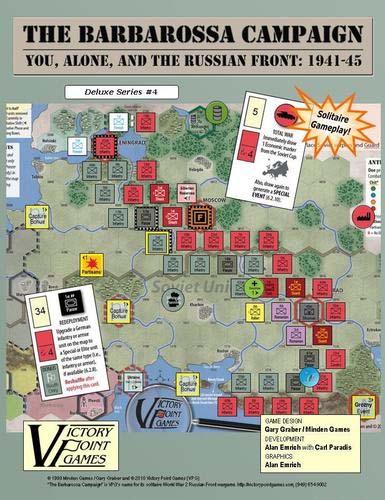 Portada del War Game The Barbarossa Campaign
