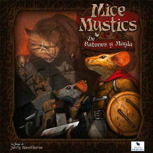 Portada de Mice and Mystics en español