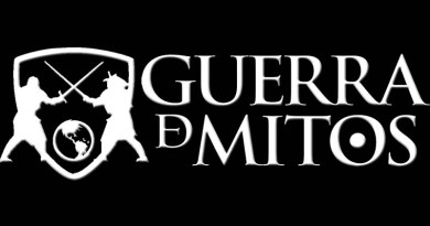 Logotipo de guerra de mitos