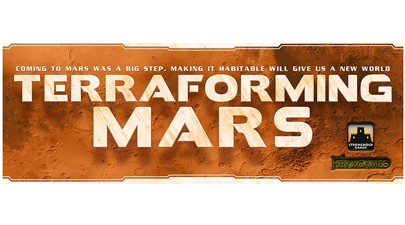 logotipo de terraforming mars