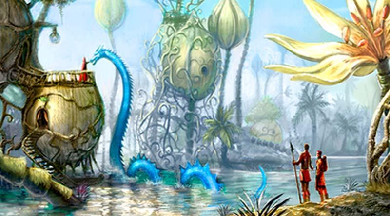 Ilustración de Zeme Parallel Worlds