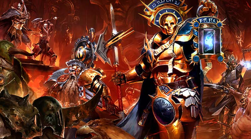 Ilustracion de Warhammer quest shadows over hammerhal