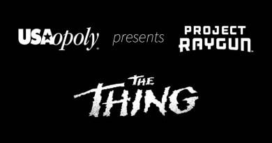 Logotipos de Usapoly, Project Raygun y La Cosa