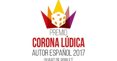 Logotipo del premio corona lúdica