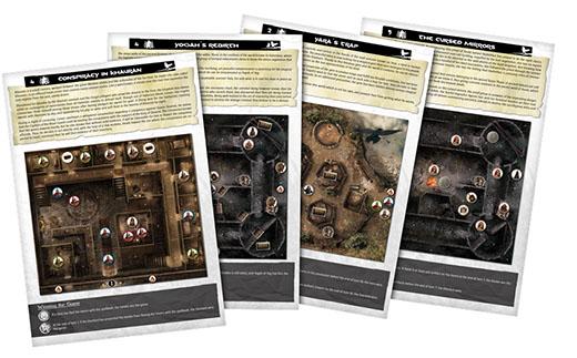 Escenarios descargables del juego de mesa Conan
