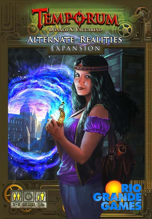 Portada de Temporum Alternate Realities