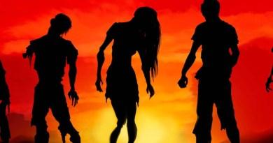 Fragmento de la portada de amanecer zombi