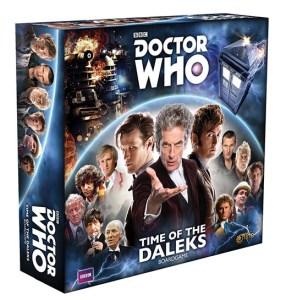 Portada de la edición para cuatro jugadores de Time of the daleks