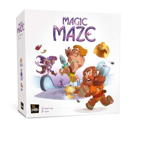 Portada de Magic Maze