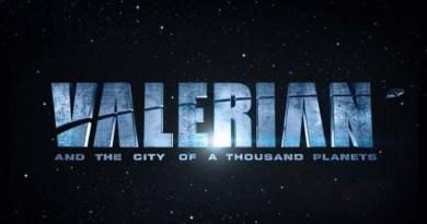 Logotipo de Valerian y la ciudad de los mil planetas