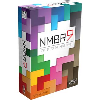 Portada de NMBR) de Z-Man games