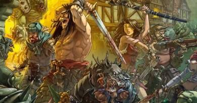 Detalled e la portada de Zombicide green horde