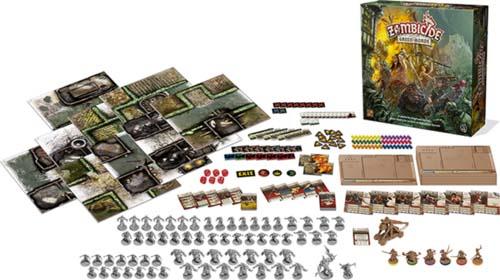 Componentes de Zombicide Green Horde