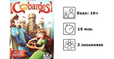 Datos del juego de cartas cobardes