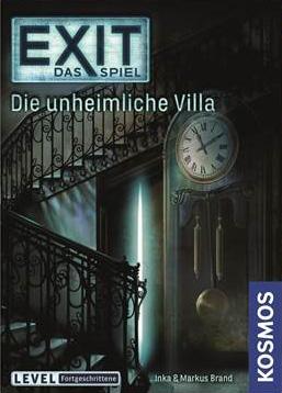 Portada de EXIT: The Game - Die unheimliche Villa