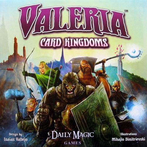 Portada de Valerian card Kingdom