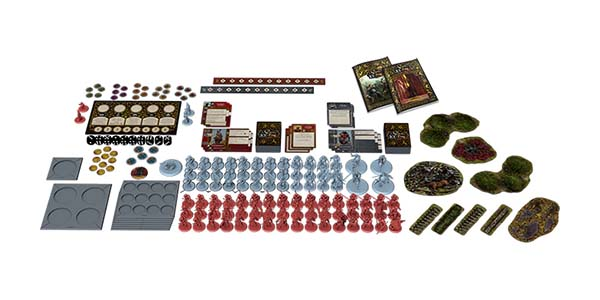 Componentes de A song of Ice and Fire the miniature game