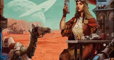 Ilustración del juego de mesa Bedouin