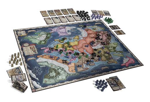 Componentes de la segunda edición de History of the world