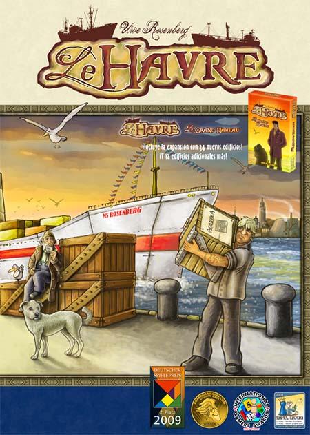 Portada de Le Havre de Maldito games