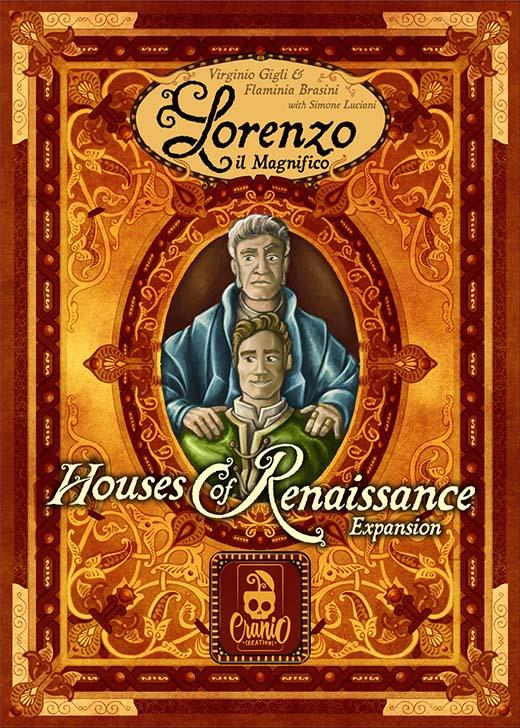 Portada de la expansión de lorenzo il magnifico casas del renacimiento