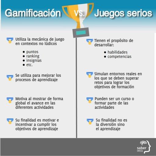 gamificacion versus juegos serios