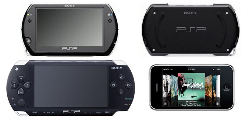 psp go vs psp iphone [E309]: PSP Go, dimensiones y la poca creatividad de Sony