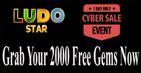 Getting 2000 Gems By Paying Ludo Star Only On Cyber Monday