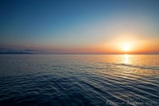 Kefalonia, sunrise in Askos