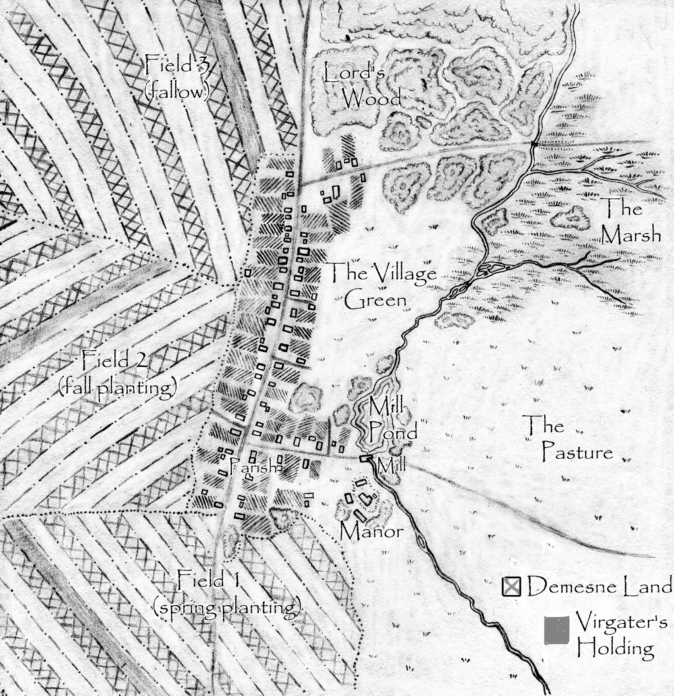 Get Medieval: The Village in the Middle Ages | Ludus Ludorum