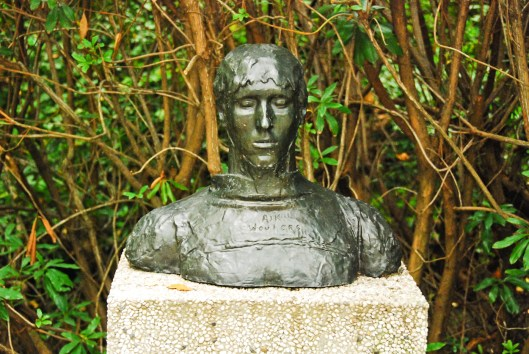 Rik Wauters-Buste van Rik Wauters