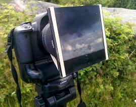 ND-filter hemmagjort Canon